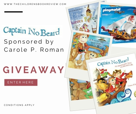 Captain No Beard Series Giveaway Facebook